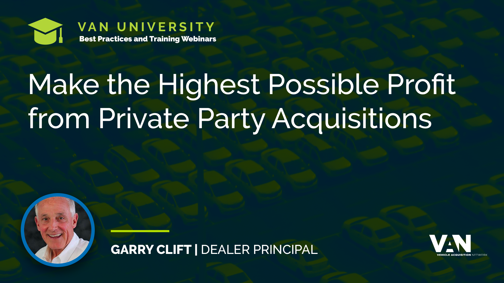 Garry Clift on making the highest possible profit