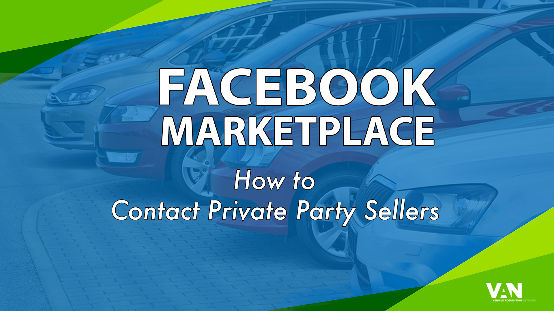 How to contact private party sellers on Facebook
