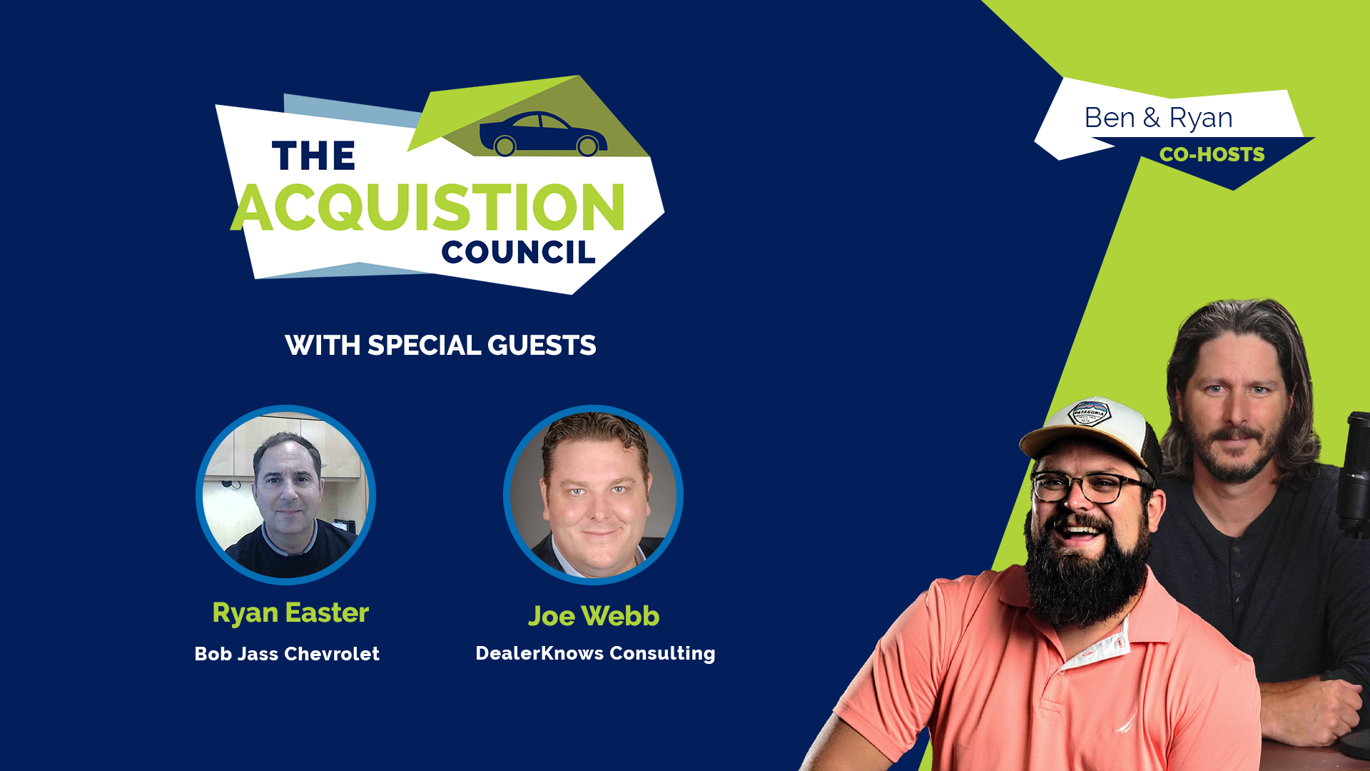 Joe Webb and Ryan Easter on the Acquisition Council w/ Ben Dykstra and Ryan Gerardi