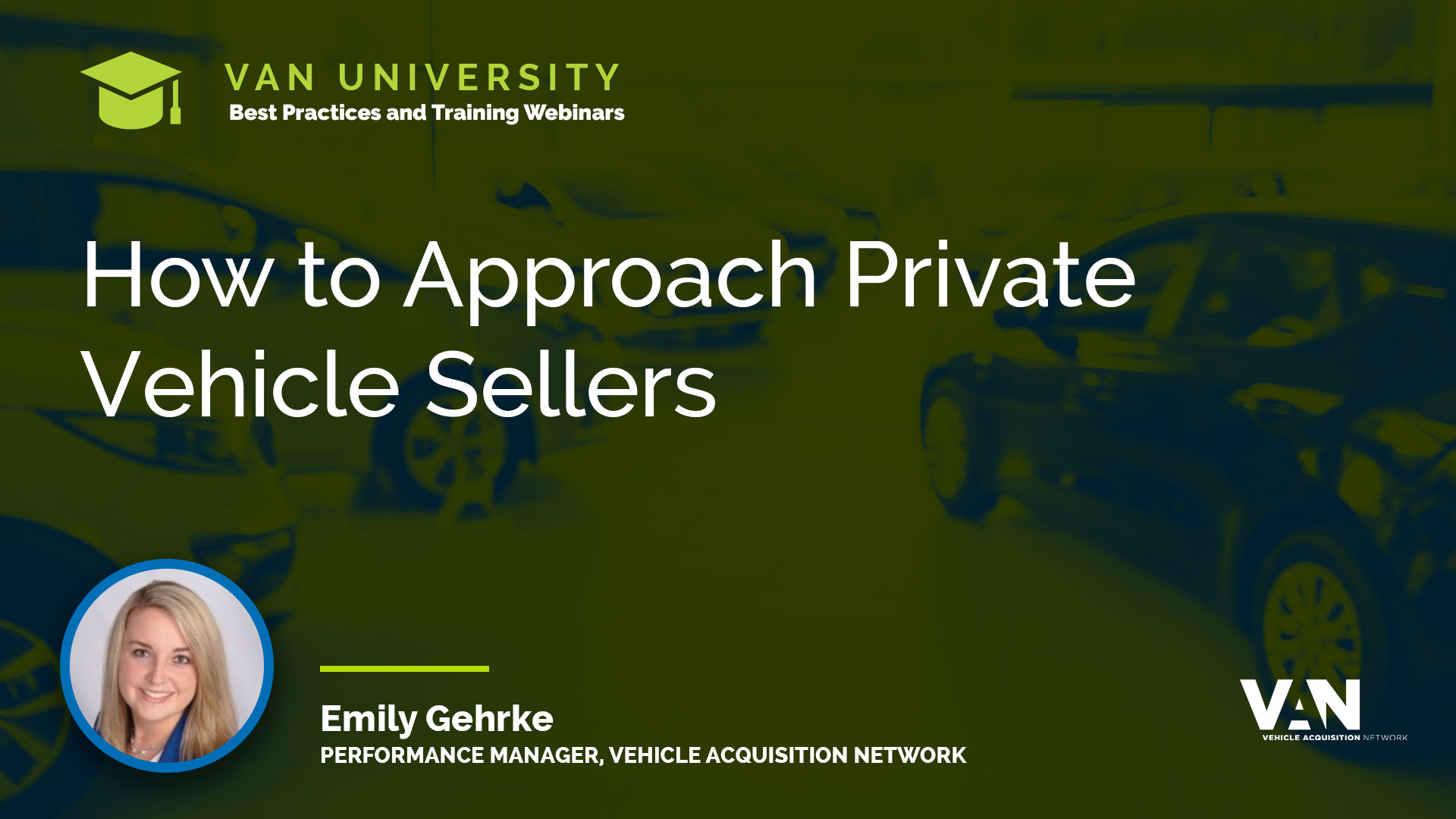 How to Approach Private Vehicle Sellers