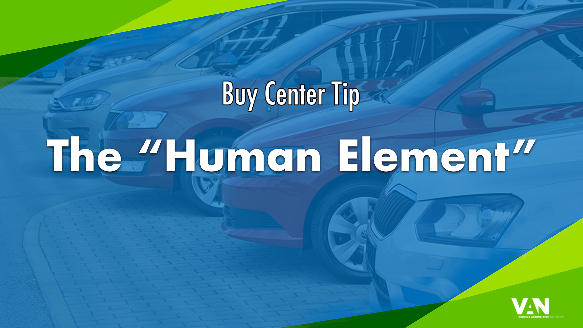 Buy Center Tip - The Human Element