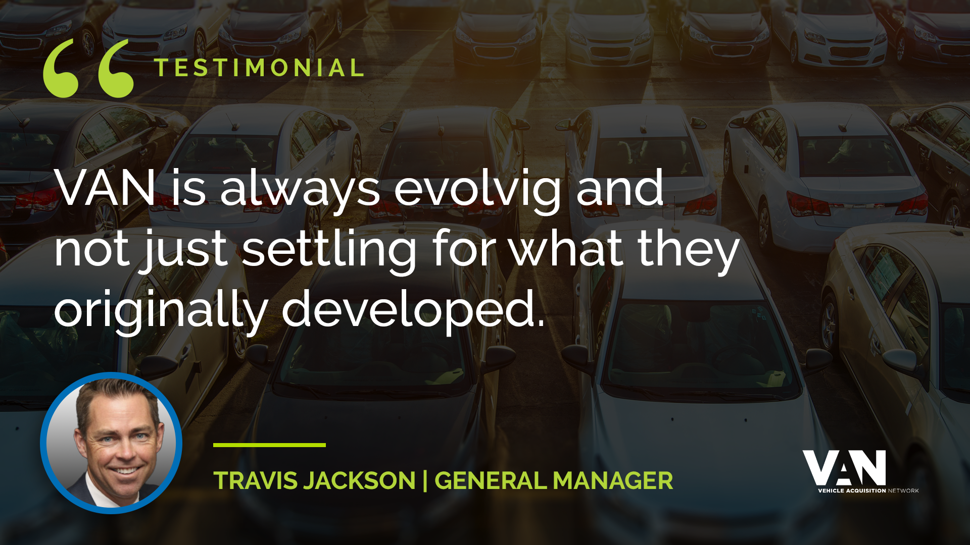 Travis Jackson, General Manager, Toyota of Naperville