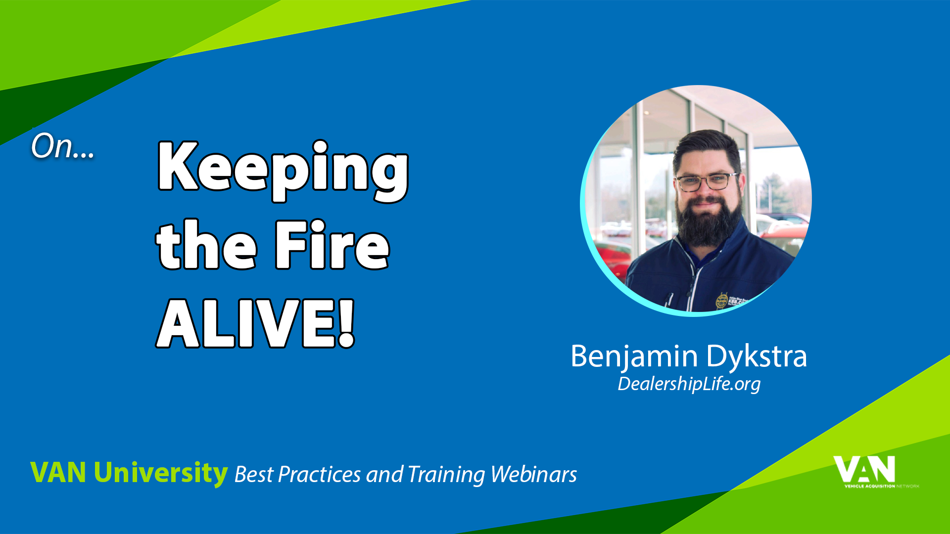 Benjamin Dykstra - Keeping the Fire Alive