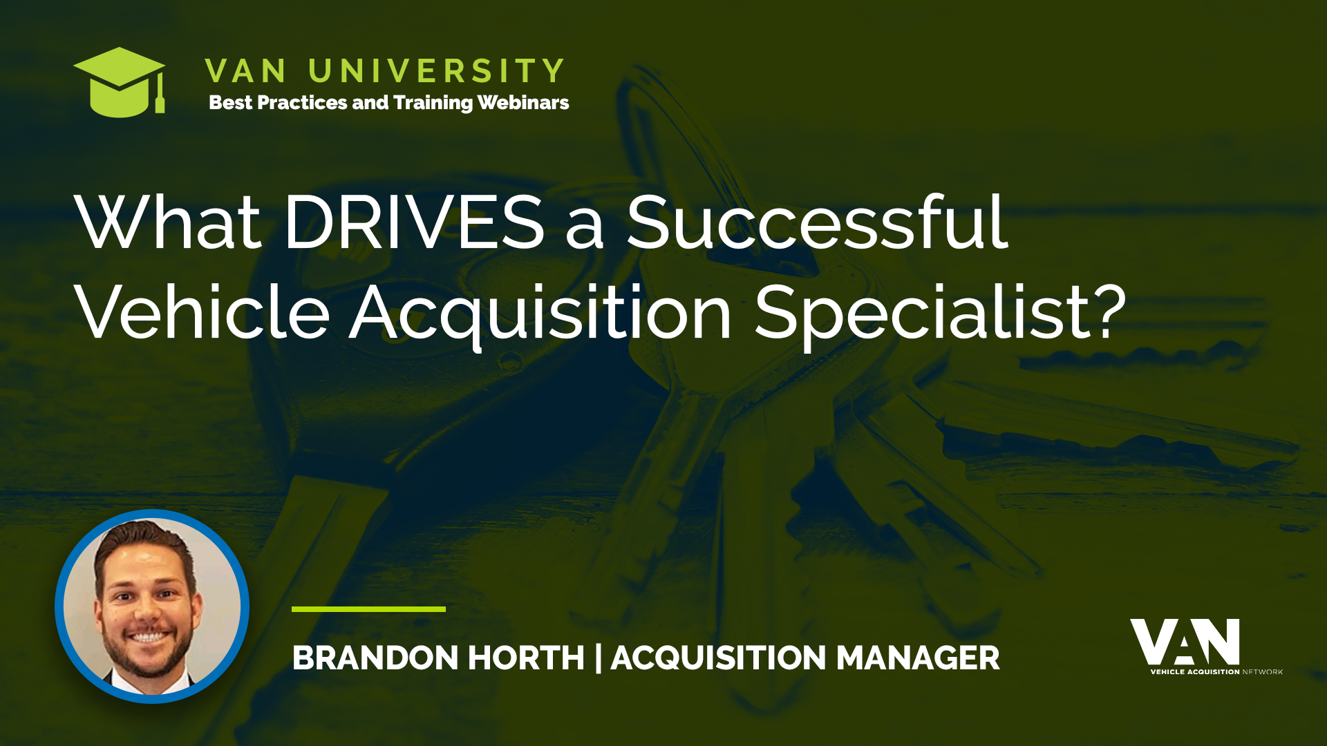 Successful Rock Star Vehicle Acquisition Specialist Brandon Horth from Wheaton Chevrolet